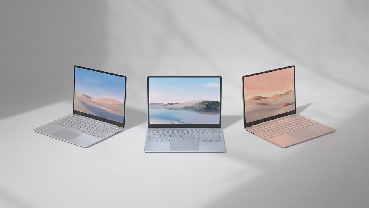Kết quả hình ảnh cho surface laptop go