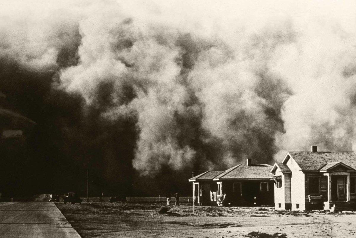 Sự kiện Dust Bowl: Cơn bão đen kéo dài 10 năm trên khắp Bắc Mỹ - Ảnh 7.