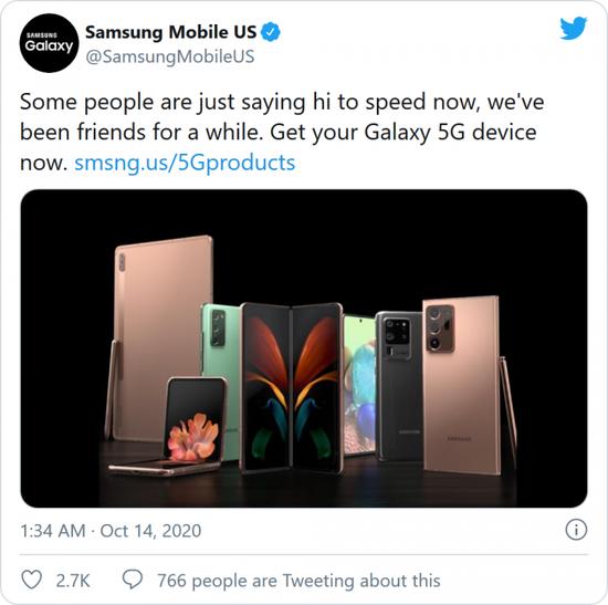 Samsung đá đểu Apple là kẻ chậm chân trong cuộc đua 5G - Ảnh 2.