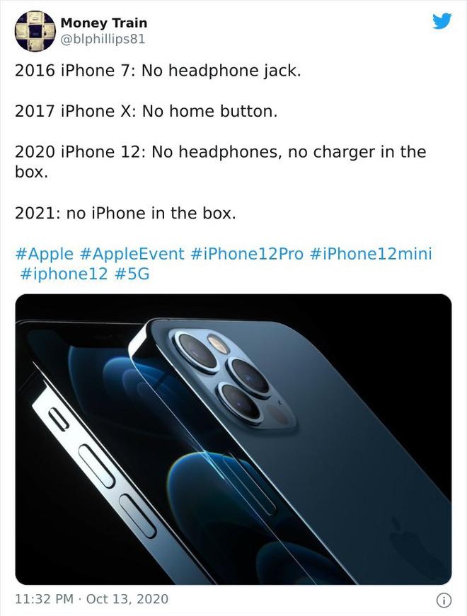 Loạt ảnh chế khó đỡ về iPhone 12 - Ảnh 5.