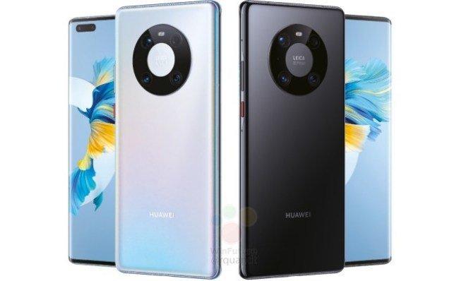 Huawei Mate 40 Pro lộ ảnh render: Cụm camera mới, chip Kirin 9000, sạc 65W - Ảnh 1.