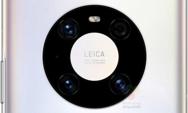 Huawei Mate 40 Pro lộ ảnh render: Cụm camera mới, chip Kirin 9000, sạc 65W - Ảnh 2.