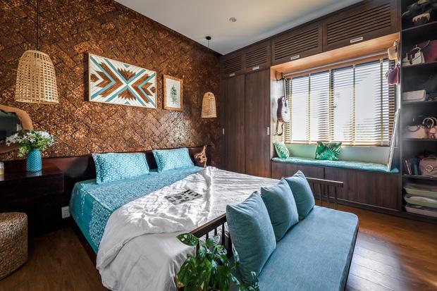 Ngôi nhà 125m2 đẹp như resort của cặp đôi yêu nhau từ cấp ba, đầu tư 2 tỷ với thiết kế đưa gió vào mọi ngóc ngách - Ảnh 12.