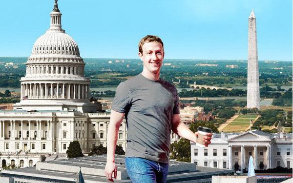CEO Facebook đã dần trở thành nhân vật ảnh hưởng rất lớn đến chính trường Mỹ như thế nào? - Ảnh 1.