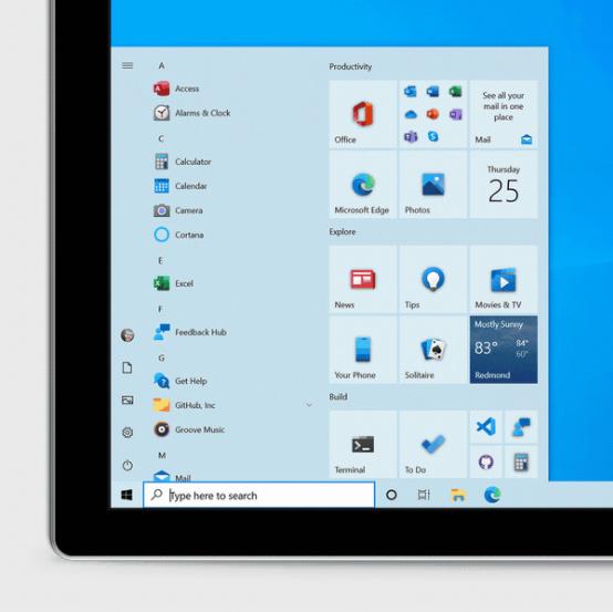 Microsoft tung bản cập nhật Windows 10 với giao diện Start Menu hoàn toàn mới - Ảnh 2.