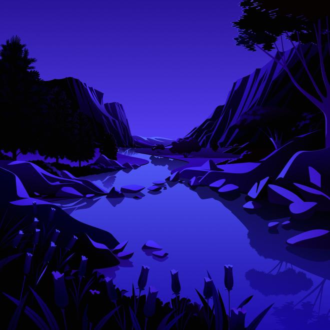 Mời tải về bộ hình nền mới cực đẹp của iOS 14.2 - Ảnh 12.
