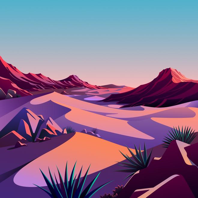 Mời tải về bộ hình nền mới cực đẹp của iOS 14.2 - Ảnh 13.