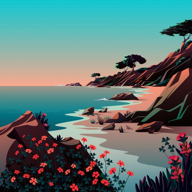 Mời tải về bộ hình nền mới cực đẹp của iOS 14.2 - Ảnh 15.