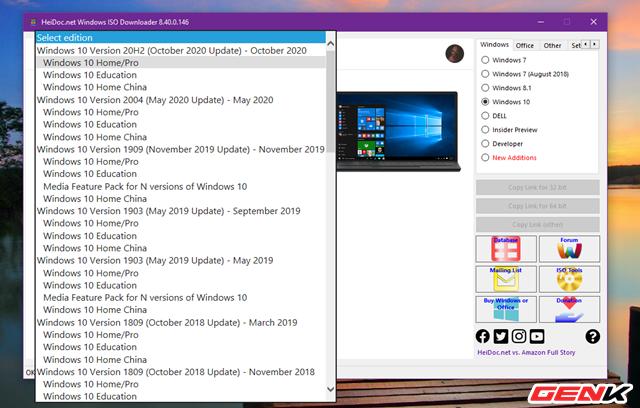 Cách tải và tạo bộ cài đặt Windows 10 October 2020 Update 20H2 bằng USB - Ảnh 5.
