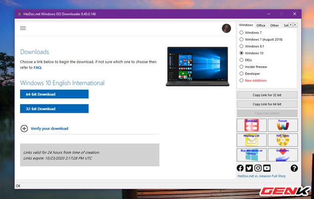 Cách tải và tạo bộ cài đặt Windows 10 October 2020 Update 20H2 bằng USB - Ảnh 7.