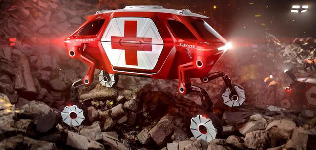 Được truyền cảm hứng từ 'Transformer', Huyndai chế xe ô tô biết biến hình thành cỗ máy đi bộ - Ảnh 1.