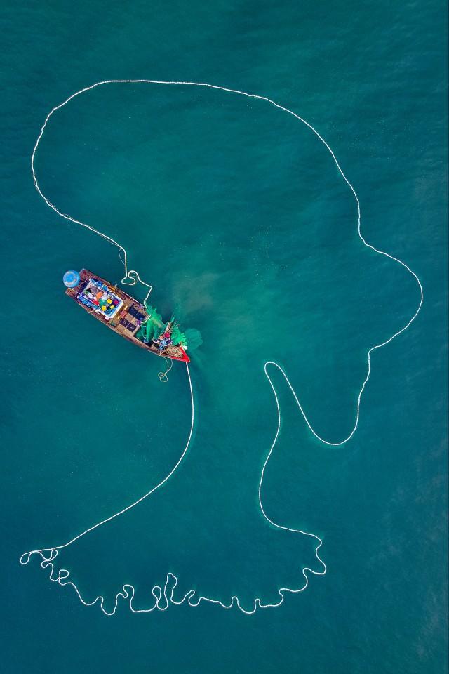 Loạt tác phẩm Việt giành giải cao tại cuộc thi Nhiếp ảnh từ trên không - Ảnh 2.