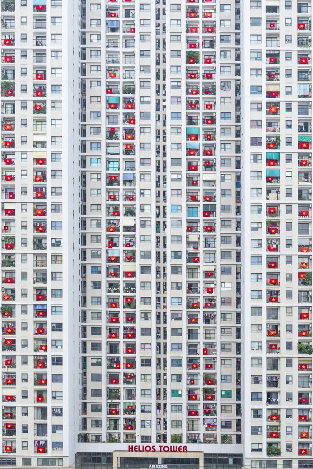 Loạt tác phẩm Việt giành giải cao tại cuộc thi Nhiếp ảnh từ trên không - Ảnh 3.