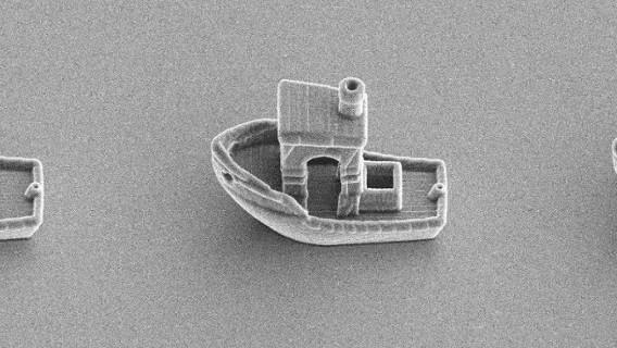 Đây là con thuyền nhỏ nhất thế giới, nó có thể trôi trên bề mặt một sợi tóc - Ảnh 8.