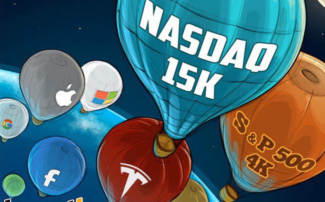 Bong bóng công nghệ: Nỗi lo trở lại mỗi khi thị trường sập - Ảnh 1.