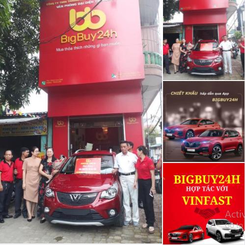 """Sàn TMĐT Bigbuy24h trước khi """"dính phốt"""": Tuyên bố liên kết với Vinfast để mua ô tô hoàn tiền, tặng ĐT bóng đá Việt Nam hàng trăm triệu đồng - Ảnh 4."""