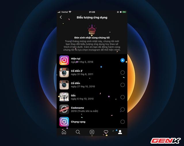 Kỷ niệm sinh nhật 10 năm, Instagram tặng người dùng lựa chọn thay đổi biểu tượng ứng dụng trên Android và iOS - Ảnh 6.