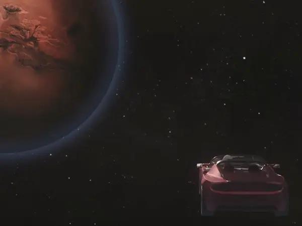 Chiếc Tesla Elon Musk phóng lên vũ trụ vừa bay ngang Sao Hoả lần đầu tiên sau 2 năm rời Trái đất - Ảnh 2.