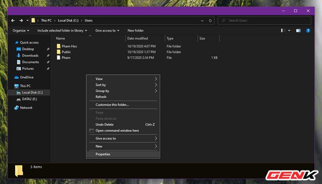 """Sửa lỗi """"Permission to access this folder"""" khi truy cập vào thư mục trong Windows 10 - Ảnh 2."""