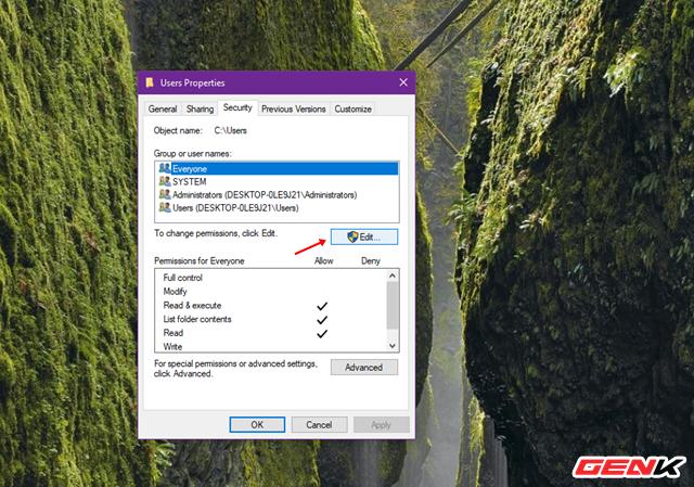 """Sửa lỗi """"Permission to access this folder"""" khi truy cập vào thư mục trong Windows 10 - Ảnh 3."""