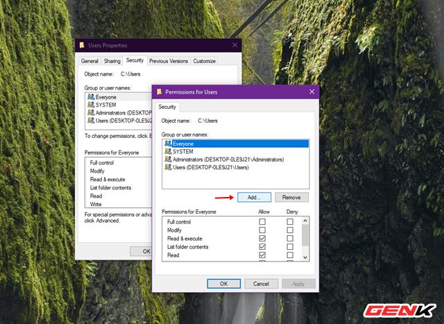 """Sửa lỗi """"Permission to access this folder"""" khi truy cập vào thư mục trong Windows 10 - Ảnh 4."""