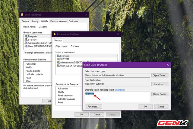 """Sửa lỗi """"Permission to access this folder"""" khi truy cập vào thư mục trong Windows 10 - Ảnh 5."""