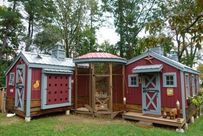 Hóa ra xây chuồng gà cũng có thể sáng tạo được tới mức này - Ảnh 15.