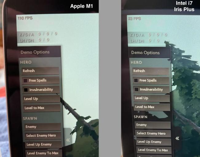 """MacBook Air mới sử dụng chip M1 có thể chiến game cực mượt, đã qua rồi cái thời """"MacBook không phải để chơi game"""" - Ảnh 2."""
