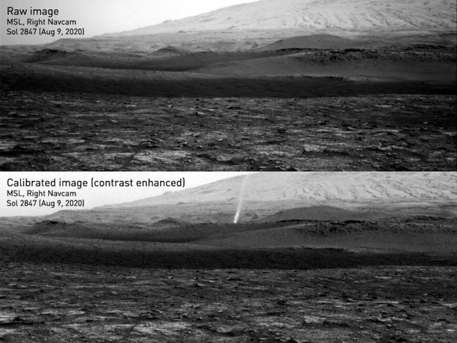 NASA phát hiện loạt vết đen khổng lồ đầy bí ẩn gây ra bởi quỷ bụi trên bề mặt Hỏa Tinh - Ảnh 2.