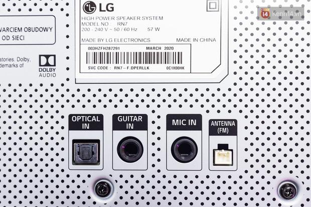 Trải nghiệm loa Bluetooth LG XBOOM RN5/ RN7: Chiếc loa cân hết mọi bữa tiệc, mọi cuộc vui đều thành sàn đấu Rap Việt - Ảnh 7.