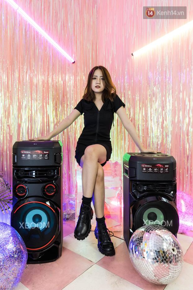 Trải nghiệm loa Bluetooth LG XBOOM RN5/ RN7: Chiếc loa cân hết mọi bữa tiệc, mọi cuộc vui đều thành sàn đấu Rap Việt - Ảnh 9.
