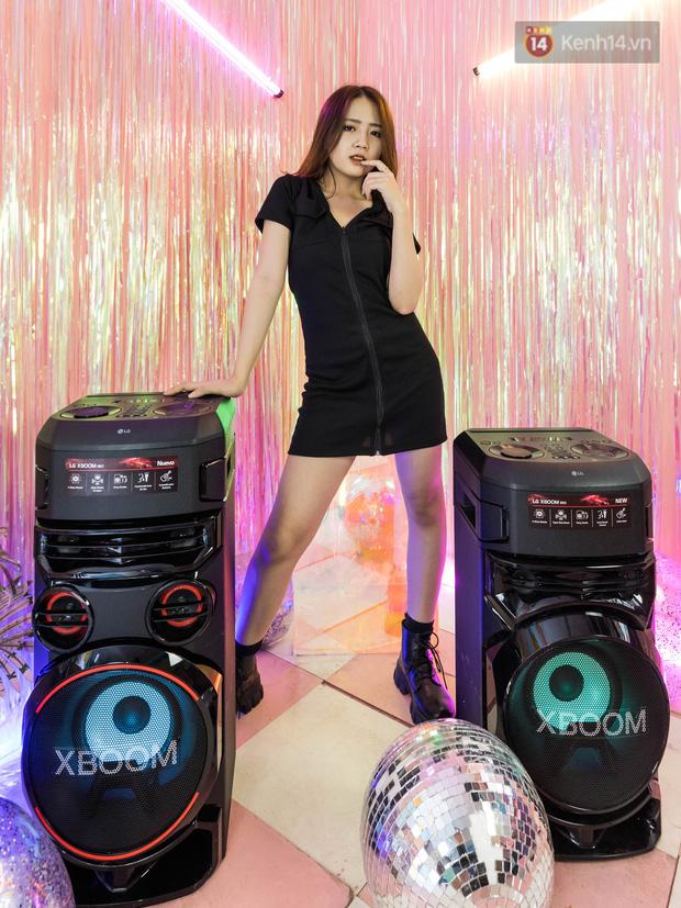 Trải nghiệm loa Bluetooth LG XBOOM RN5/ RN7: Chiếc loa cân hết mọi bữa tiệc, mọi cuộc vui đều thành sàn đấu Rap Việt - Ảnh 10.