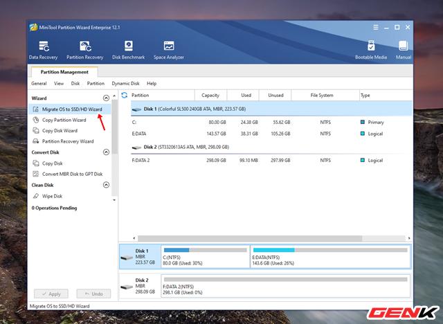Cách chuyển hệ điều hành Windows từ HDD sang SSD mà không cần cài mới lại - Ảnh 4.
