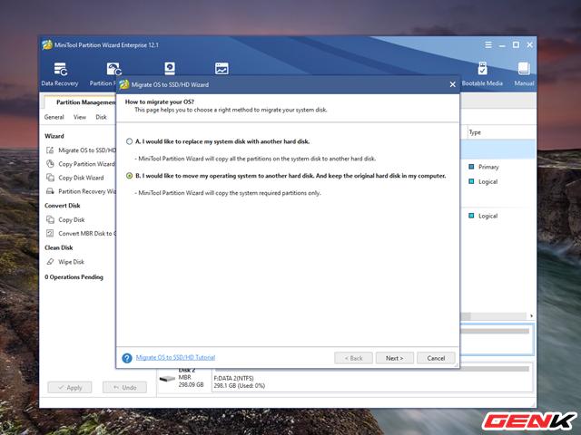 Cách chuyển hệ điều hành Windows từ HDD sang SSD mà không cần cài mới lại - Ảnh 5.