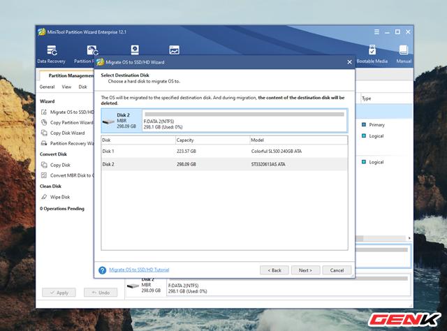 Cách chuyển hệ điều hành Windows từ HDD sang SSD mà không cần cài mới lại - Ảnh 6.