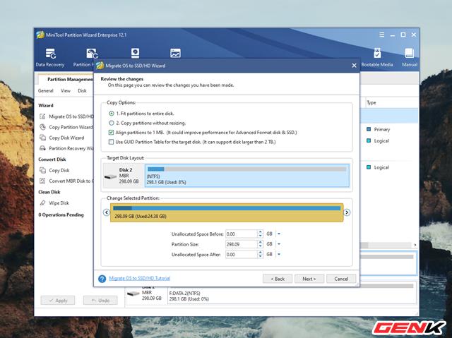 Cách chuyển hệ điều hành Windows từ HDD sang SSD mà không cần cài mới lại - Ảnh 7.