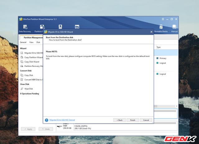 Cách chuyển hệ điều hành Windows từ HDD sang SSD mà không cần cài mới lại - Ảnh 8.