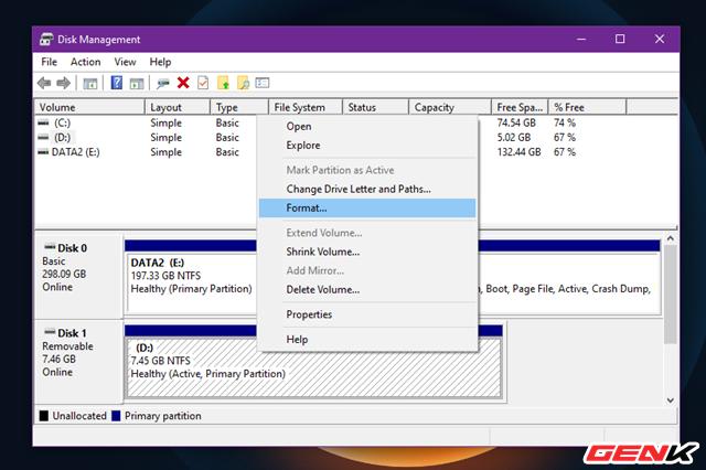 Sửa lỗi USB hoặc thẻ nhớ SD không thể format ở Windows 10 - Ảnh 3.