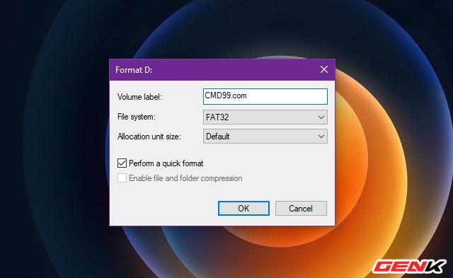 Sửa lỗi USB hoặc thẻ nhớ SD không thể format ở Windows 10 - Ảnh 4.