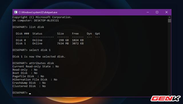 Sửa lỗi USB hoặc thẻ nhớ SD không thể format ở Windows 10 - Ảnh 8.