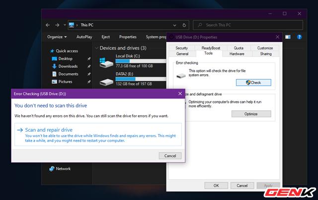 Sửa lỗi USB hoặc thẻ nhớ SD không thể format ở Windows 10 - Ảnh 10.