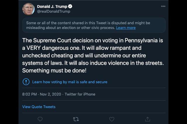 Facebook, Twitter kiểm soát thông tin bầu cử Mỹ chặt chẽ thế nào? - Ảnh 1.