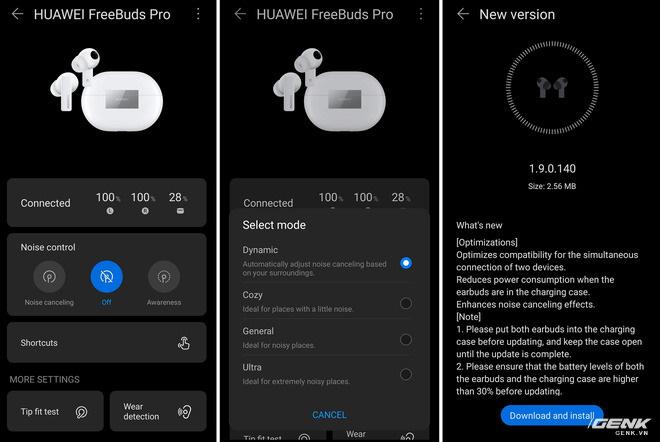 Trải nghiệm tai nghe Huawei Freebuds Pro: Đeo thoải mái, chống ồn mạnh, âm đậm đà - Ảnh 9.
