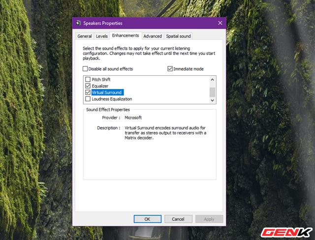 Khám phá những tùy chỉnh giúp cải thiện chất lượng âm thanh trong Windows 10 - Ảnh 14.