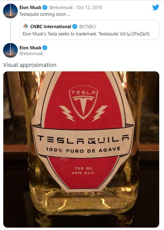 Tesla tiếp tục tung sản phẩm 'lạc loài': Rượu tequila giá 250 USD/chai, cháy hàng sau 'vài nốt nhạc' - Ảnh 2.