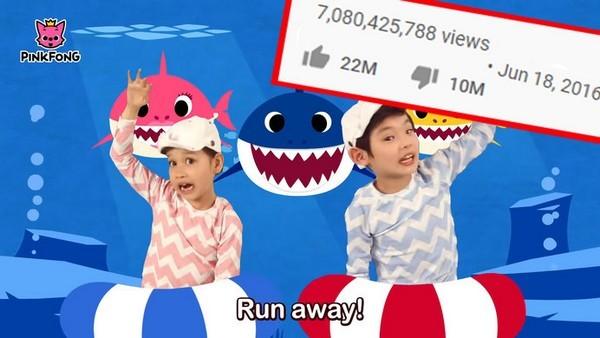 'Baby Shark Dance' và chiếc cần câu cơm của YouTube - Ảnh 1.