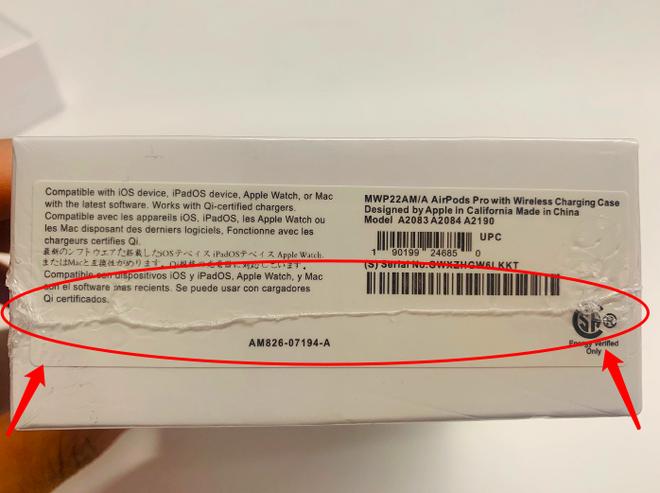 Lạc vào vũ trụ AirPods fake: Từ những chiếc tai nghe vài chục nghìn cho đến hàng nhái tinh vi mà CEO Apple cũng không phân biệt được - Ảnh 6.