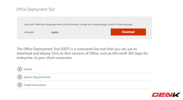 Tự tạo bộ cài đặt Office theo ý muốn với công cụ chính chủ từ Microsoft - Ảnh 2.