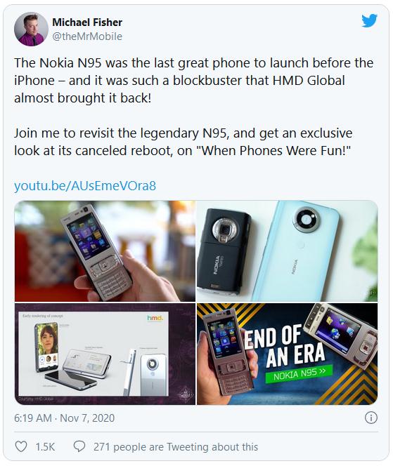 Hình ảnh nguyên mẫu Nokia N95 bị HMD khai tử - Ảnh 1.