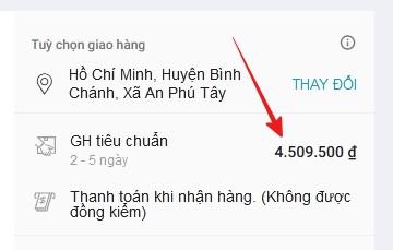"""Hí hửng đặt mua tai nghe không dây Honor sale từ tiền triệu còn 10k, """"hết hồn"""" vì phí ship lên tới… 4 triệu 5 - Ảnh 5."""
